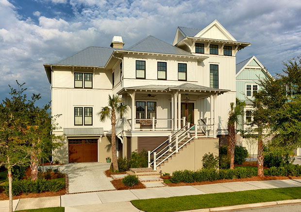 Cobb architects portfolio custom homes low country beach for Low country architecture
