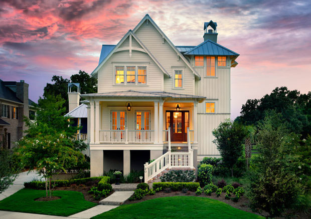 Custom Homes Low Country Beach Cottages Charleston SC Architects